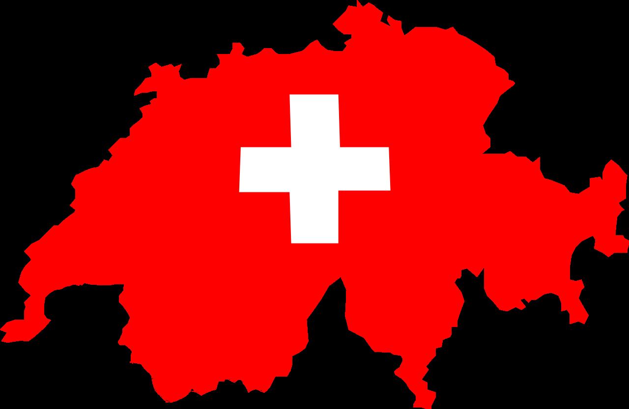 Carte drapeau suisse svg