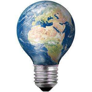Terre ampoule