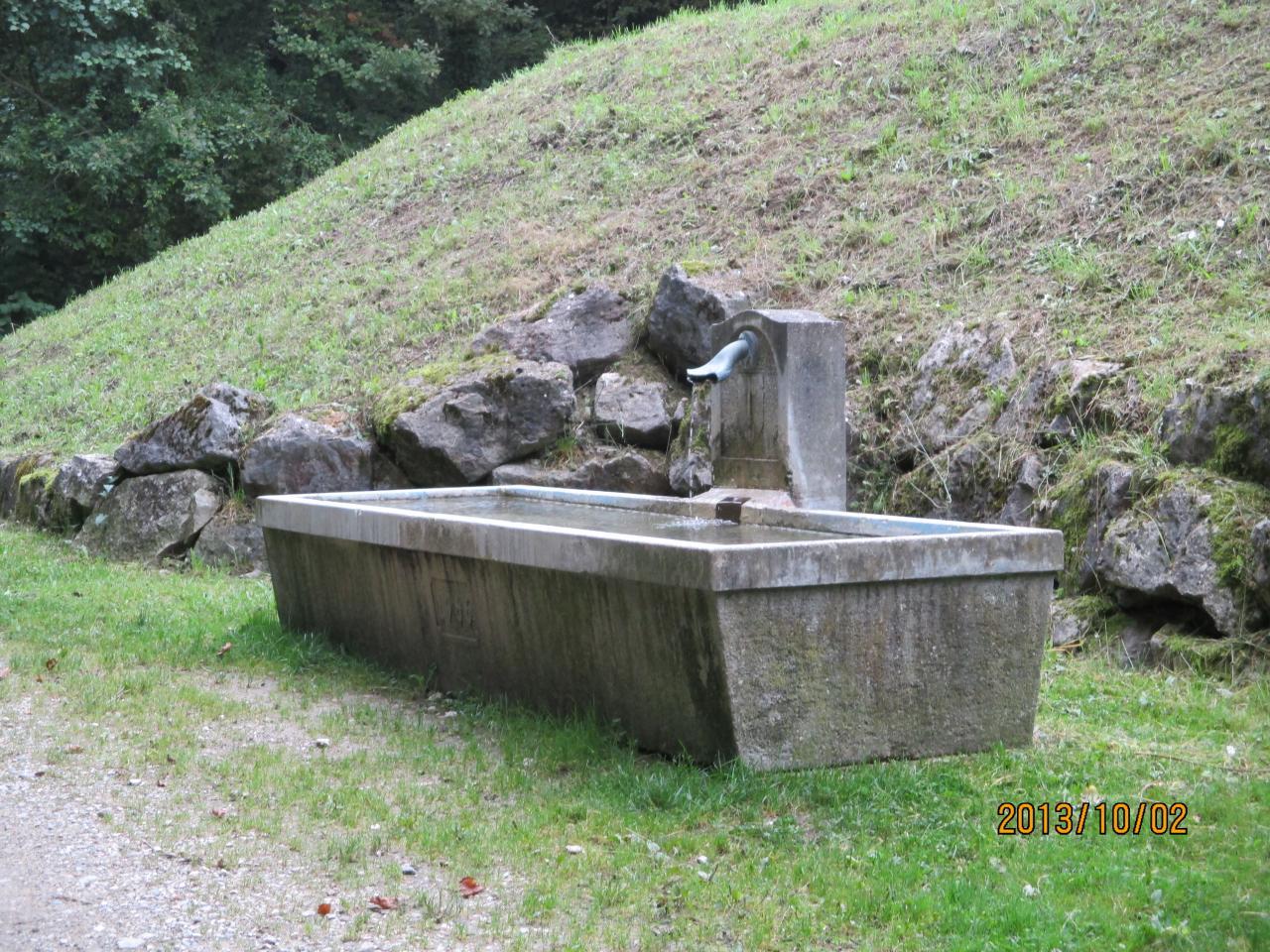 Fontaine du réservoir